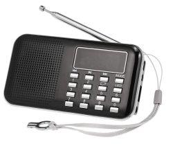 Docooler Y-896 Mini Taschenradio mit MP3-Player, USB und MicroSD Slot für 7,96€