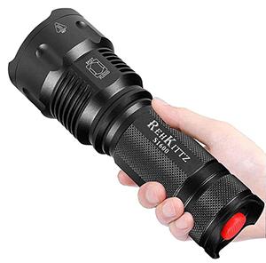 REHKITTZ LED Taschenlampe für nur 10,39€