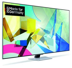 Samsung GQ55Q87TGTXZG QLED TV (55 Zoll, 4K UHD, HDR, USB-Aufnahme, Sprachsteuerung, Quantum HDR 1500) für nur 799,96€