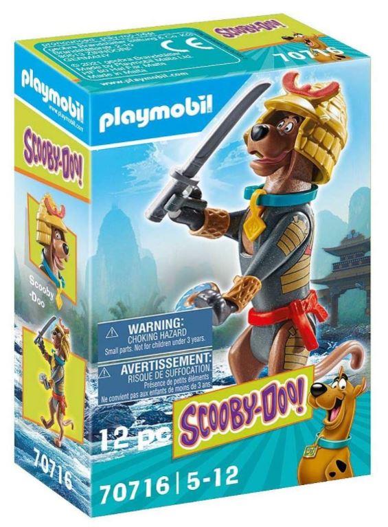 PLAYMOBIL SCOOBY-DOO! 70716 Sammelfigur Samurai