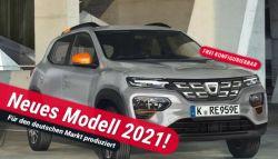Gewerbeleasing: Dacia Spring Comfort Electric mit 45 PS nur 39,68€ mtl. bei 30 Monaten Laufzeit und 10tkm/Jahr