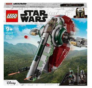 Lego 75312 Star Wars Boba Fetts Starship Konstruktionsspielzeug für nur 34,99€ inkl. Versand