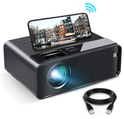 W13 WiFi Mini Beamer mit 800×480 Pixel für 64,11€