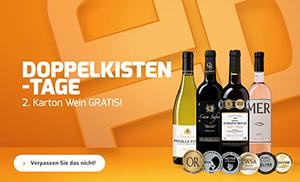 Weinvorteil: 50% Rabatt auf über 170 Weine beim Kauf von 2 Kisten