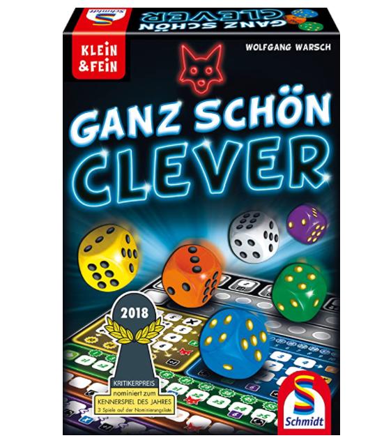 Schmidt Spiele 49340 Ganz Schön Clever, Würfelspiel aus der Serie Klein & Fein für nur 6,39€ bei Prime inkl. Versand