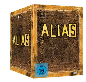 Alias – Komplettbox, Staffel 1-5 [29 DVDs] für nur 32,88€ inkl. Versand