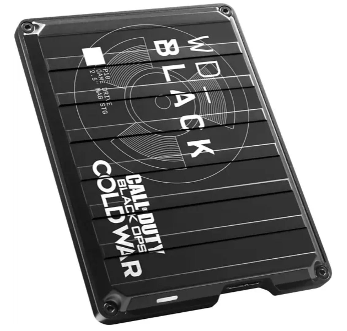 WD BLACK P10 2TB Game Drive Festplatte Call of Duty Special Edition für nur 59€ inkl. Versand