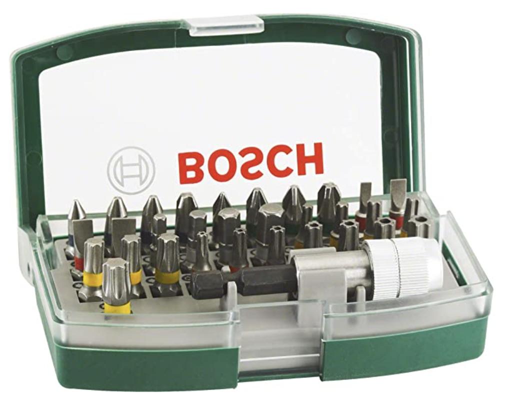 Bosch 32-tlg. Schrauberbit-Set für nur 7,99€ bei Prime-Versand