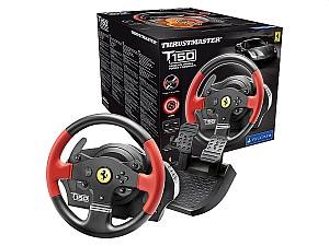 Thrustmaster T150 Rennlenkrad – Ferarri Edition für 119€ (statt 149€)