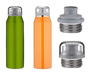 alfi Premium Isoliertrinkflasche (500ml, Edelstahl, auslaufsicher, 12 Stunden heiß, 24 Stunden kalt) für nur 9,99€ inkl. Versand
