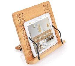 SUNFICON Buch-, Tablet oder Notenständer aus Bambus für nur 7,64€