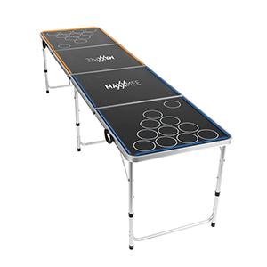 MAXXMEE Beer Pong Tisch mit LED-Beleuchtung für nur 69,90€