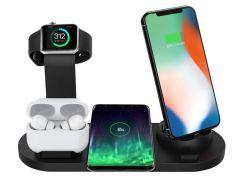 Bestrans 3-in-1 Wireless Charger für Smartphones, Apple Watch und Airpods für 13,49€