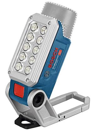 Bosch Professional 12V System Akku Baustrahler GLI 12V-330 (330 Lumen, 2 Helligkeitsstufen) für nur 39,99€