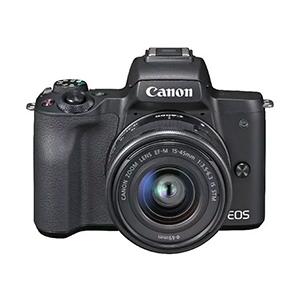 CANON EOS M50 Kit Systemkamera mit Objektiv 15-45 mm für nur 449,10€ (MediaMarkt-Club)