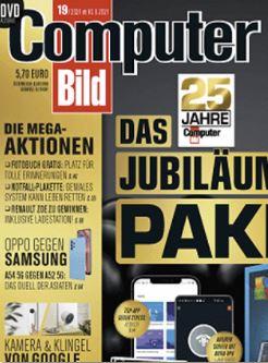 3 Monate Computer Bild mit DVD gratis testen (statt 31€)
