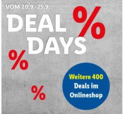 LIDL.de Deal Days mit bis zu 67% Rabatt auf viele Artikel + kostenloser Versand