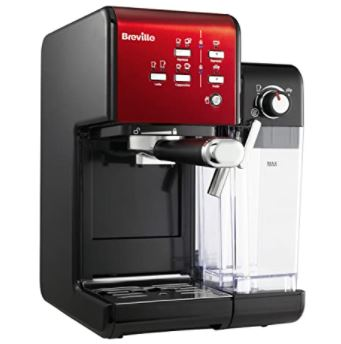 Breville PrimaLatte II Kaffee- und Espressomaschine (19 Bar, Kaffeepulver & Pads, automatischer Milchschäumer) für nur 139,99€ – statt 240,65€