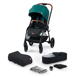 Kinderkraft 2-in-1 Kinderwagen Evolution Cocoon für nur 229,99€