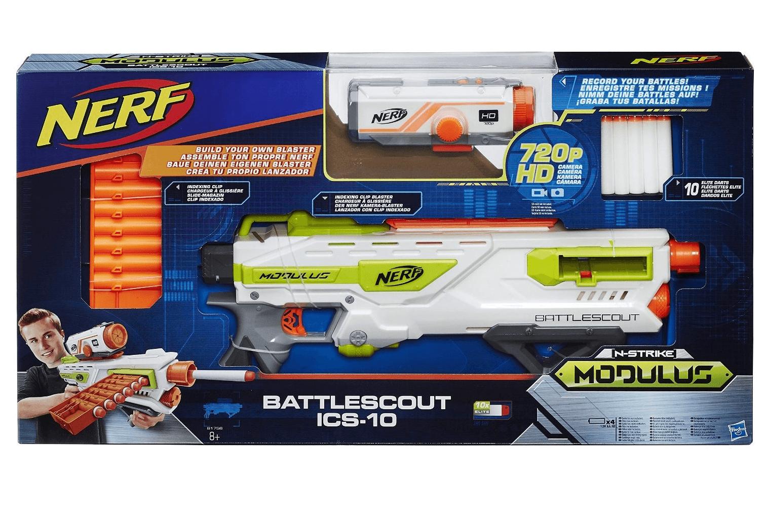 Hasbro Nerf N-Strike Elite Modulus BattleScout ICS-10 Nerf Gun 21,98€ inkl. Versand
