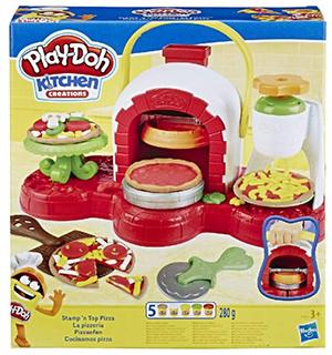 Play-Doh Pizzaofen mit 5 Dosen für nur 13,99€