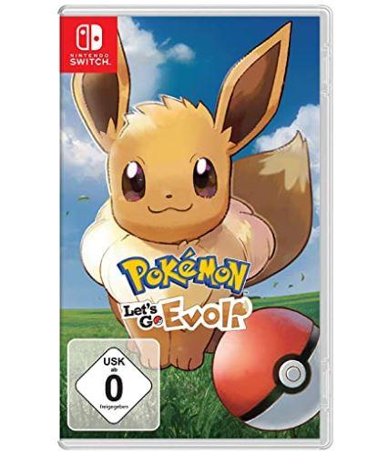Pokémon: Let´s Go, Evoli! – [Nintendo Switch] für nur 39,99€ inkl. Versand