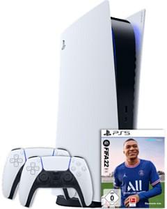 Sony PlayStation 5 Disc Edition + 2. Controller + Fifa 22 für 1€ + 20GB LTE/5G o2 Allnet Flat für mtl. 49,99€