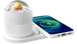 ICARERFAMILY 10W Wireless Qi-Ladegerät mit Lampe für 12,99€