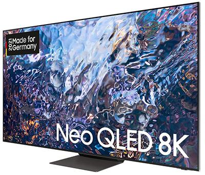 Samsung Neo GQ75QN700ATXZG QLED 8K TV (Quantum HDR 2000, Quantum-Matrix-Technologie, Slim One Connect) für nur 2.899€