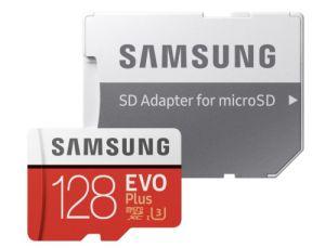 Samsung EVO Plus 2020 microSD Speicherkarte (128 GB, UHS Class 10, 100 MB/s Lesegeschwindigkeit) für nur 13,95€ inkl. Versand
