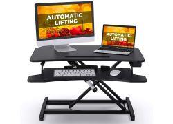 iHomeRusso elektrisch höhenverstellbarer Schreibtisch-Aufsatz für 149,99€