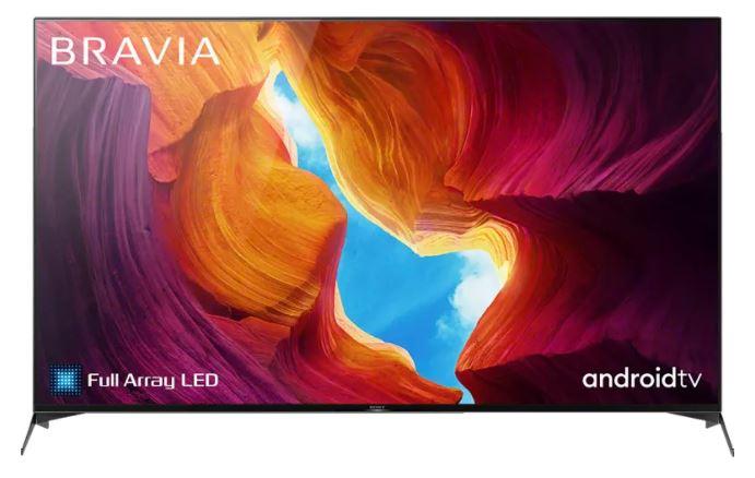 SONY KD-65XH9505 LED TV (Flat, 65 Zoll / 164 cm, UHD 4K, SMART TV, Android TV) für nur 989€ (statt 1.149€)