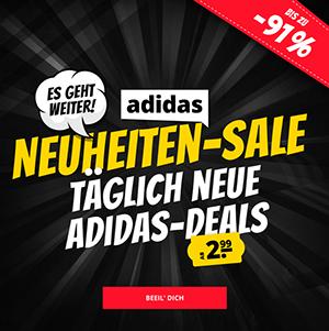 Der Adidas Mega Sale bei SportSpar mit bis zu 91% Rabatt