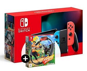 Nintendo Switch (Neue Version) mit Ring Fit Adventure für 3,99€ + Vodafone Allnet-Flat mit 15GB LTE für 21,98€ mtl.