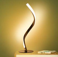 Tomshine Spiral LED Tischleuchte für 15,99€ bei Ebay