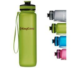 Auslaufsichere KingCamp Tritan Trinkflasche mit 1000ml für 7,47€