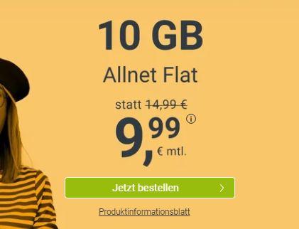 WinSIM Allnet-Flat mit 7 GB Datenvolumen für 7,99€ oder mit 10 GB Datenvolumen für 9,99€ pro Monat – (monatlich kündbar)