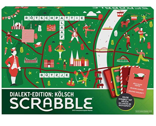 Mattel Games GGN23 – Scrabble Dialekt Edition Köln oder Berlin für je nur 17,19€ – Edition Bayern für nur 20,69€