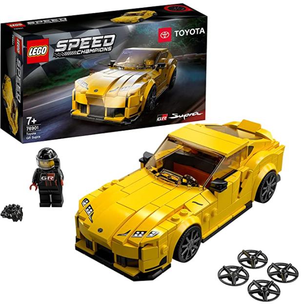 LEGO 76901 Speed Champions Toyota GR Supra Rennwagen für nur 14,68€ bei Prime inkl. Versand
