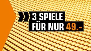 3 Spiele für nur 49 Euro – über 260 Spiele für PC, PlayStation, Xbox und Nintendo Switch