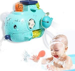 Joy joz 5-in-1 Wal Badewannenspielzeug für Kleinkinder für 11,99€