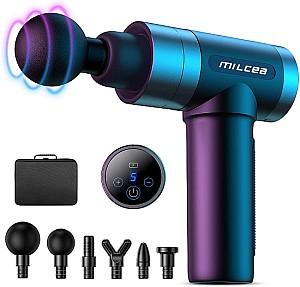MILcea Massagepistole mit 5 Geschwindigkeiten und LCD-Touchscreen für 39,99€