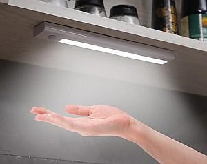 Namolit LED Schranklicht (3000-6500K, Batteriebetrieben, Bewegungssensor) für 9,99€