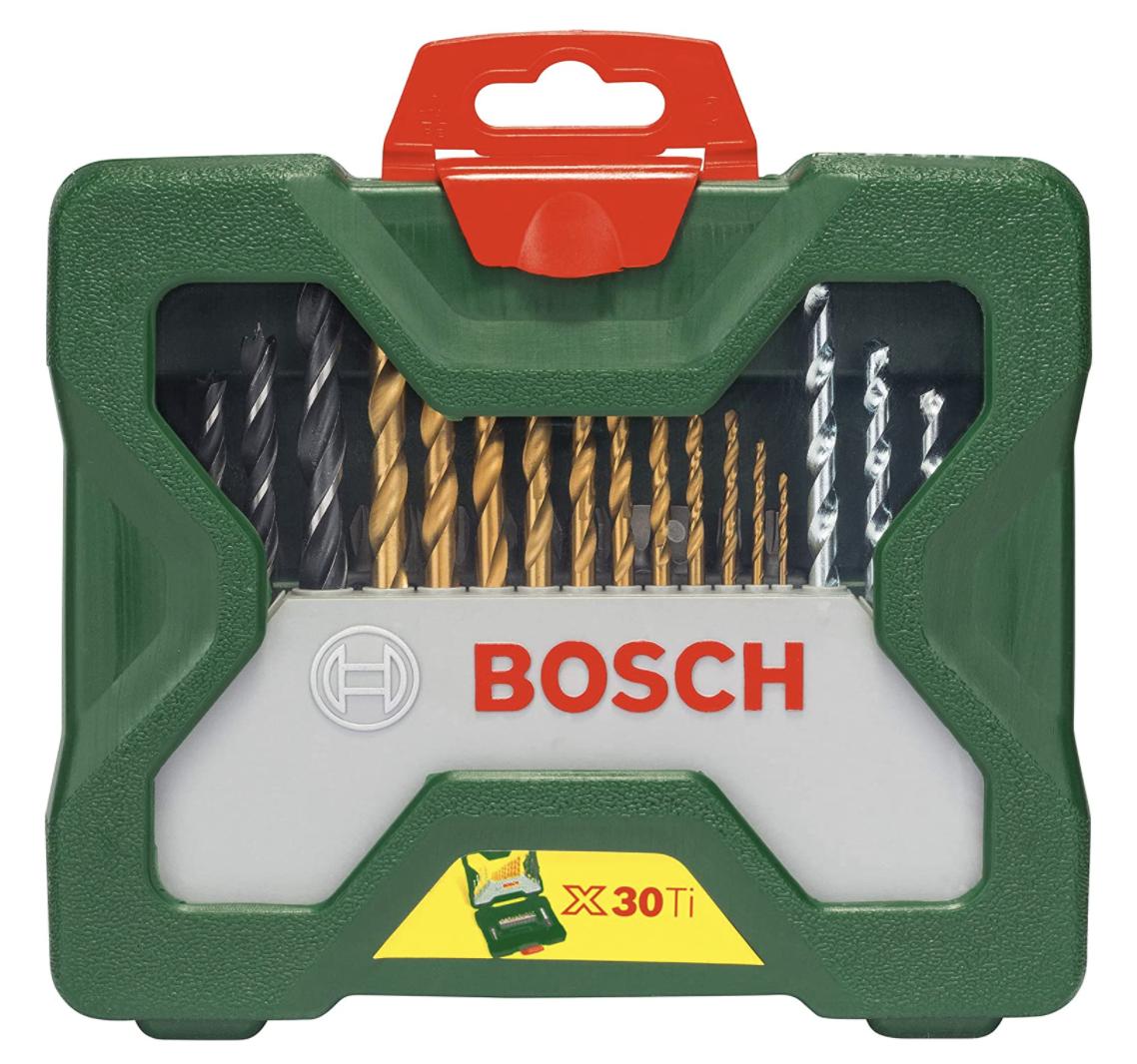 Bosch 30tlg. X-Line Titanium-Bohrer- und Schrauber-Set für nur 11,66€ bei Prime-Versand