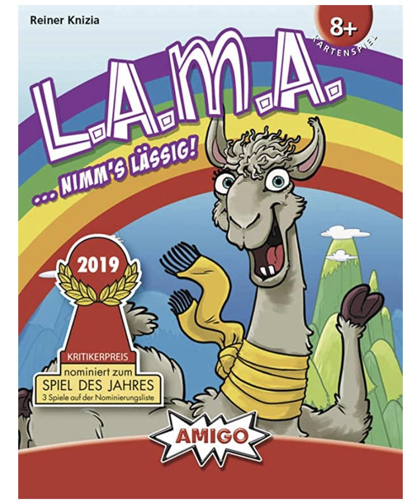 AMIGO Spiel 01907 LAMA für nur 5,39€ bei Prime-Versand