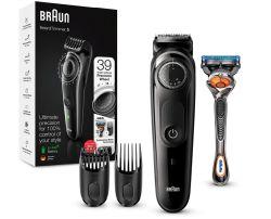 Braun Bart Trimmer / Haarschneidemaschine BT5242 inkl. Rasierer für 29,99€