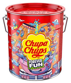 Verschiedene Chupa Chups Angebote u.a. Best of Lollipop-Eimer (150 Lutscher) ab 14,24€ / Chupa Chups Best of Lutscher-Beutel (120 Lollis) ab 9,49€