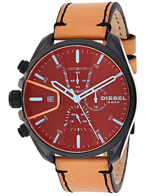 Diesel Herren Armbanduhr Chronograph Quarz Leder DZ4471 für nur 109€ (statt 165€)