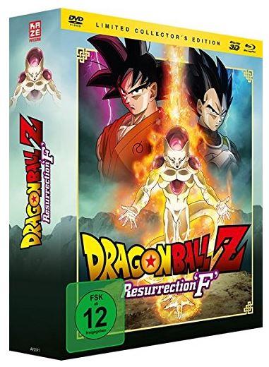 Dragonball Z: Resurrection 'F' – [3D-Blu-ray & DVD] Limited Edition für nur 9,97€ (statt 16€)
