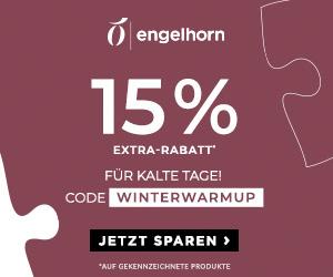 15% Rabatt auf ausgewählte Winterbekleidung bei Engelhorn – z.B. Jacken & Pullover